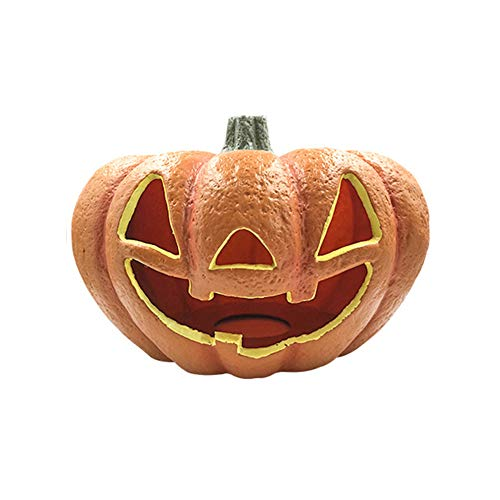 Carving Pumpkins Muster - LJNGD Halloween-Kürbis-flammenloses geführtes Laternen-Lampen-Tee-Licht, helle blinkende