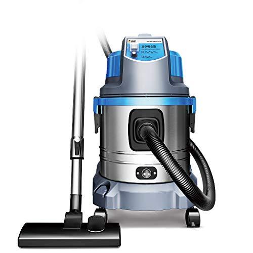 Teppich-reiniger Aufrecht Vakuum (Unbekannt Aufrecht Beutelloser Kanister-Staubsauger für harten Boden mit dem Haustier-Haar, 1800W 3-in-1 Spalten-Werkzeug-Hochleistungs-Staubsauger für Hartholz-Fußböden-Blau-Splitter)