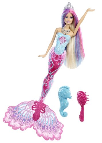 Mattel Barbie X9178 - Farbzauber Meerjungfrau, Puppe