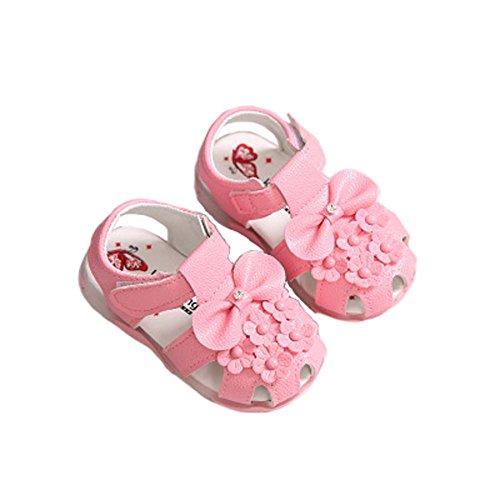 Sandalen weichen Boden 0-1-2 Jahr verkauft Babykleinkindschuhe Mädchensommer