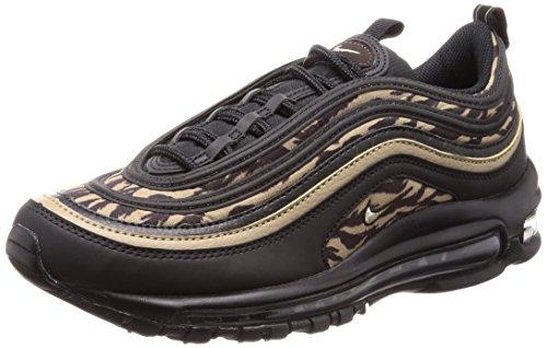 Nike Air Max 97 AOP Tiger Camo AQ4132 001 Black Khaki Velvet Brown (US 8 Black Khaki)