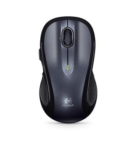 Logitech M510 - Ratón (USB, inalámbrico), Negro