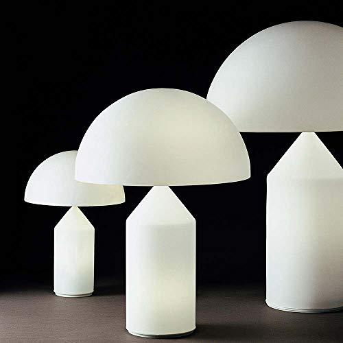 Oluce Atollo 50 Opal - Lámpara de mesa clásica