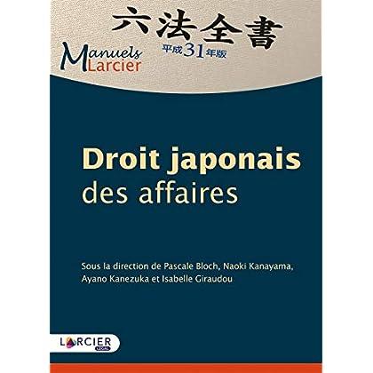Droit japonais des affaires