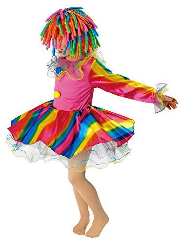 Körner Festartikel Regenbogen Clown - Kleid 116-128