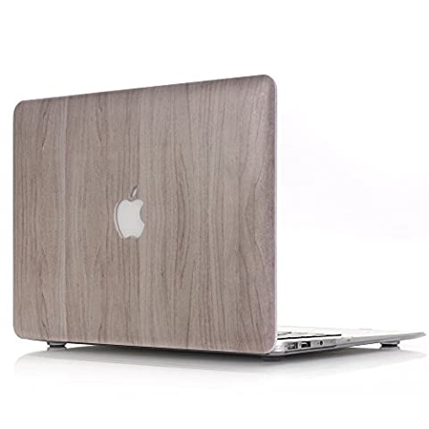 Coque Macbook Pro 13 Retina,L2W Macbook Pro 13.3 Retina inch Plastic Hard Shell coque Cover for Newest MacBook Pro Retina 13 Inch with Retina Display Model A1706/A1708 ( With or without Touch Bar )[Motif de texture du bois MW-2]