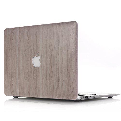 MacBook Air 13 Hülle Holz - AQYLQ Schutzhülle MacBook Air Hard Case Cover für Laptop MacBook Air 13.3 Zoll (model A1466 model A1369) (Holz Textur Muster)