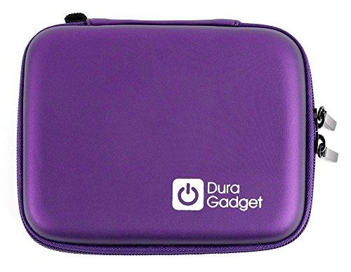 Violettes Hartschalen-Etui aus robustem EVA Material, mit Klettverschluss und Zusatzfach für die Polaroid Snap und Snap Touch - Film Polaroid 95