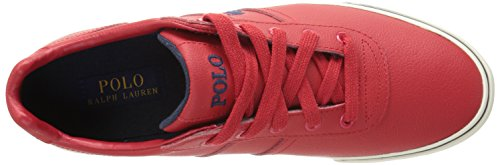 Polo Ralph Lauren Hanford Canvas Fashion Sneaker Real Red