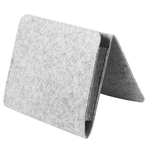 OUNONA Organizer Tasche Für Bett Sofa Filz (Grau)