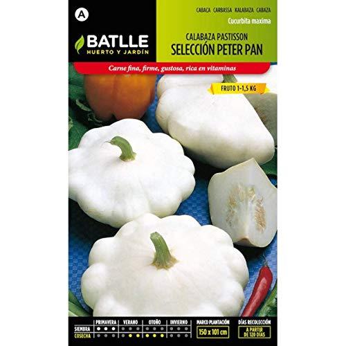 ScoutSeed Batlle Gemüsesamen - Kürbis Pastis Blanca Peter Pan (6g)