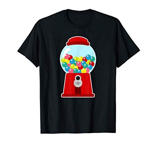 Gumball Maschine niedliches Kostüm Bubblegum Retro Geschenk  T-Shirt