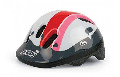Polisport Mädchen Helm Baby, pink/weiß, 44-48 cm, 67697