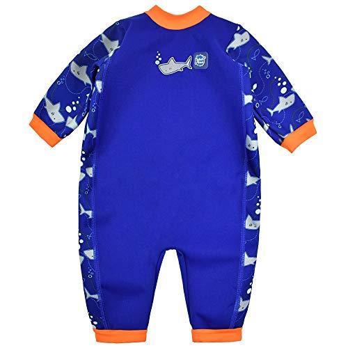 Splash About Baby Ganzkörper Schwimmanzug, Shark Orange, 6-12 Monate (Herstellergröße: L)