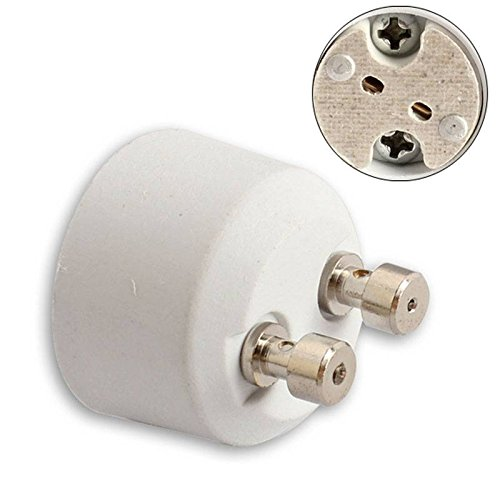 Bazaar GU10 MR16 Adapter Sockel Base Halogen Glühlampe Lampen Konverter Halter -
