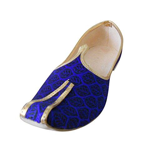 Kalra Creations, Chaussons Homme Bleu