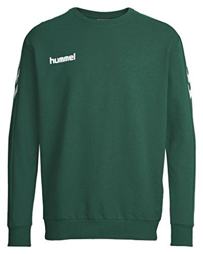 Hummel felpa da uomo Core verde - evergreen