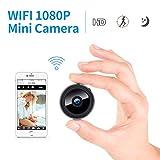 Mini Spy Camera, FREDI 1080P HD WiFi Hidden Camera Spy Cam, Small Wireless
