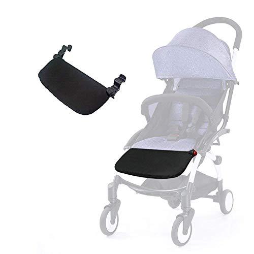 Silla de paseo reposapiés 8.5 pulgadas Accesorios para Babyzen Yoyo Yoya Extensión de pies Infant Pram Footboard (16cm)