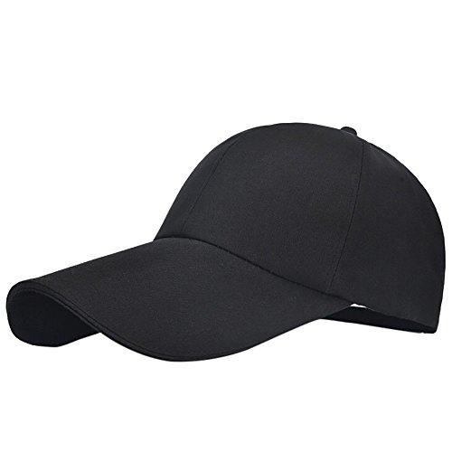 JUSTSELL ❤ Mütze Unisex, Frauen Damen Herren Einfarbig Kappe Hut Verstellbar Baseballmütze Sport Baseball Cap Casual Outdoor Hütte Kopfbedeckung Mütze