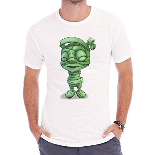 League Of Legends Amumu Smile Happy Herren T-Shirt Weiß
