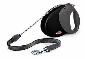 flexi Hundeleine Comfort Long 3, 8m, bis 50kg, schwarz/schwarz