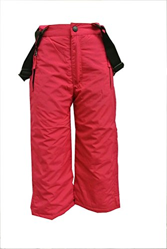 Outburst - Outburst Mädchen Skihose Latzhose Schneehose Wasserdicht 1.500 mm Wassersäule, pink - 3809714, Größe 140