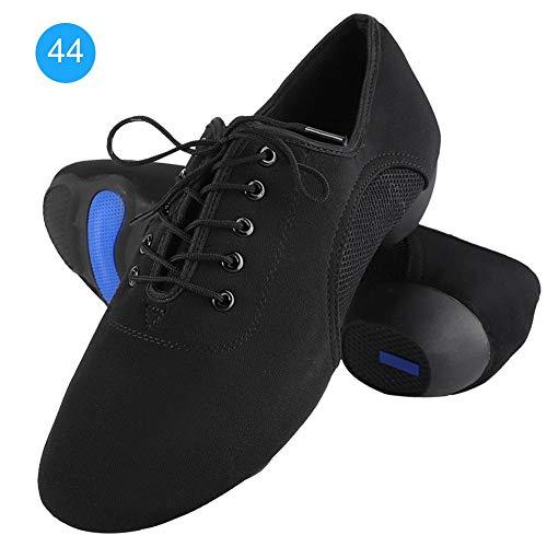 Tbest Männer und Frauen Tanz Sneaker Weiche Bequeme Latin Schuhe Ballsaal Moderne Outdoor-Tanzschuhe für Latin Salsa Tango(44)
