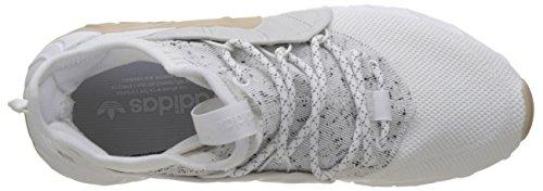 adidas Tubular Rise, Sneaker a Collo Alto Uomo Bianco (Footwear White/footwear White/footwear White)