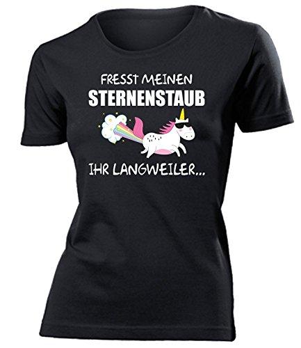 en Sternenstaub Ihr Langweiler 5942 Frauen T-Shirt (F-SW) Gr. XXL (Kondom Kostüm Bilder)