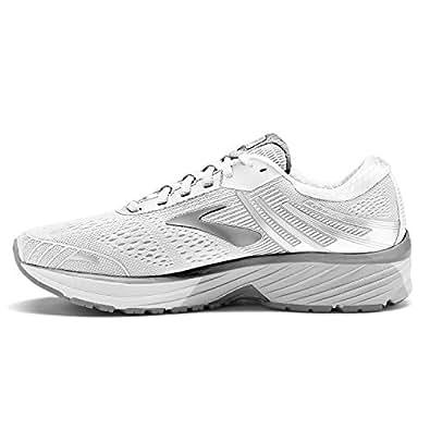 Brooks Women's Adrenaline GTS 18 Running Shoes White Size