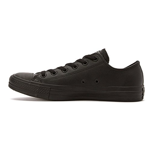 Converse Unisex-Erwachsene All Star Ox Leather Turnschuhe Schwarz (Black Monochrome)