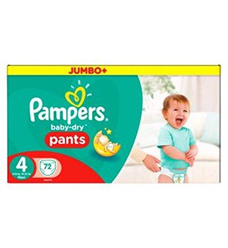 Preisvergleich Produktbild Pampers Baby-Dry Hose Größe 4 Jumbo-Box 72 Windeln