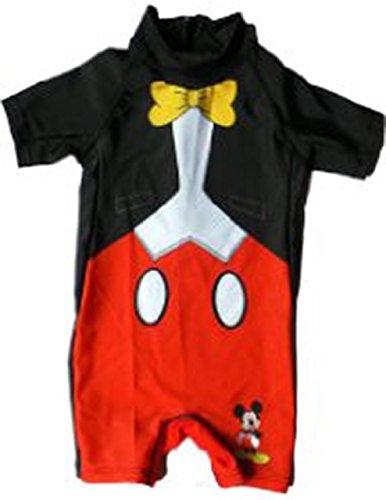 Mickey Mouse giovani Costume da bagno 2-5anni da bagno Body (en1852) Schwarz/Rot 5 anni
