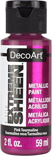Deco Art Americana Extreme Glanz Jar der Farbe, Acryl, Turmalin rosa, 3,5x 3,5x 10cm