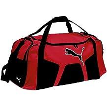 puma sporttasche rot schwarz