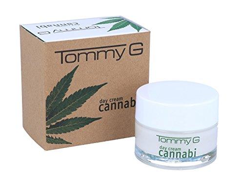TOMMY G Cannabi DAY Cream 50 ml - Hochwertige Tagespflege mit Hanföl für das Gesicht