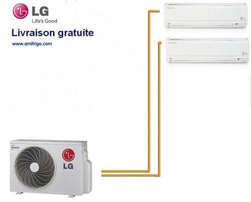 LG PARED INVERTER BI-SPLIT MU3M21+ 1X MS09AH + 1X MS12AH N40