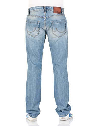 LTB Herren Jeans Hollywood - Slim Straight - Blau - Lucena X Wash Lucena X Wash (50012)