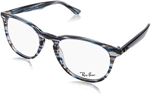 Ray-Ban Unisex-Erwachsene 0RX 7159 5750 52 Brillengestelle, Blau (Blue Grey Spped)