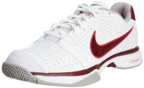 Nike Zoom Vapor 8 Club 431842-101 Herren Sportschuhe - Tennis Weiss/White/Team Red-Sport Red-Tch G 44