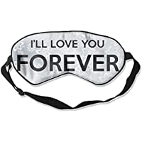 I'll Love You Forever 99% Eyeshade Blinders Sleeping Eye Patch Eye Mask Blindfold For Travel Insomnia Meditation preisvergleich bei billige-tabletten.eu