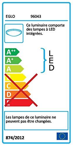 Eglo–LED-Licht-M/2-Flammen Nickel Satin 'metrass 2' 2x 5Watt A + - 5