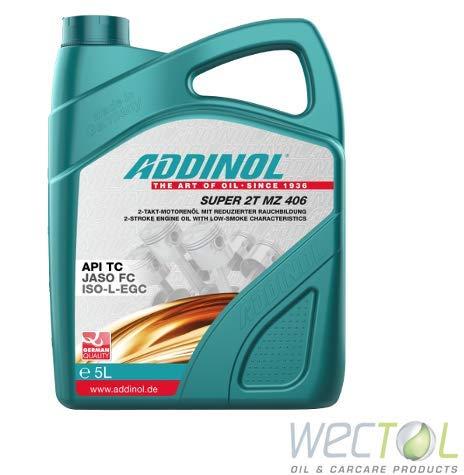 ADDINOL Super 2T MZ 406 synthetisches Hochleistungsöl 5 Liter MZ406 2 Takt