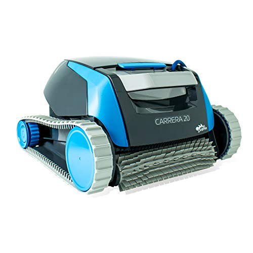 Dolphin Carrera 20 - Robot limpiafondos para piscinas fondo y paredes