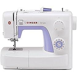 1 de Singer Simple 3232 - Máquina de coser mecánica, 32 puntadas, 120 V, color blanco