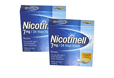 Nicotinell Nicotine Patch TTS10 7mg- Step 3 - 7 Days Supply - PACK OF 2 by Nicotinell