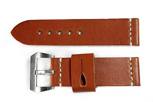26-mm-watch-strap-southern-comfort-leather-bracelet-steel-buckle-hand-crafted-for-model-4704-pam-par