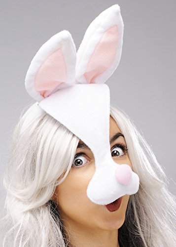 Struts Fancy Dress Kaninchen-Maske auf Stirnband