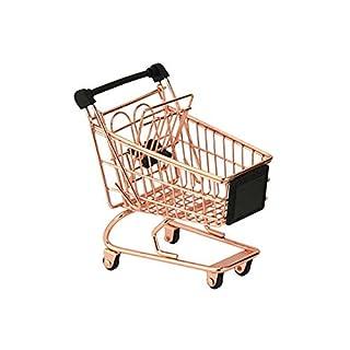 Apollo Housewares 7572 Apollo Copper Mini Shopping Trolley, Plastic